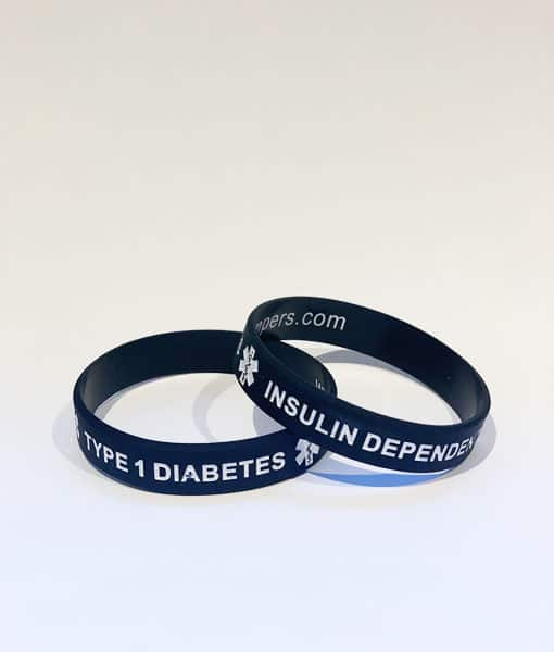 Type 1 Diabetes Adult Wristband