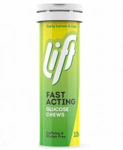 Lift Fast-Acting Glucose Chews Lemon Lime