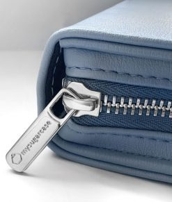 CLOSE UP ZIPPER_Blue