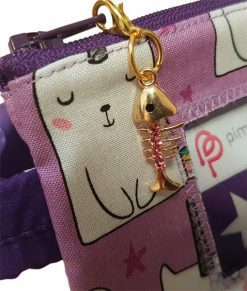 Insulin Pump Pouch Kittycorn Close up