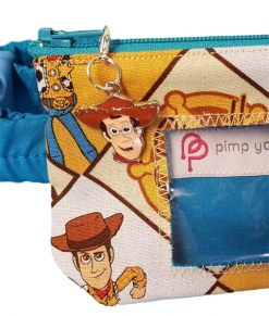 Insulin Pump Pouch Woody Close Up