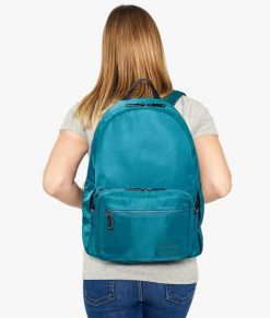 Myabetic Edelman Diabetes Backpack Teal Lifestyle