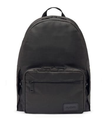 Edelman_Diabetes_Backpack_Black_Front