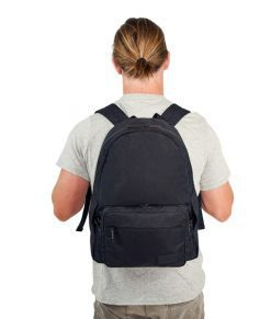 Myabetic Edelman Diabetes Backpack Black Lifestyle