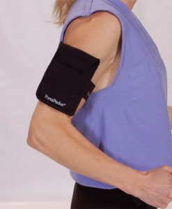 PortaPocket for Insulin Pumps on arm