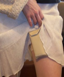 PortaPocket for Insulin Pumps on thigh