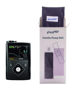 Glucology Insulin Pump Band Black box