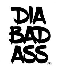 Diabetes Vinyl Decal Stickers Diabadass