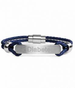 Diabete-ezy Navy Medi Band