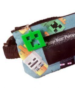 Insulin Pump Pouch Minecraft Close Up