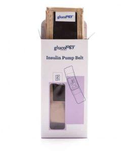 Glucology Insulin Pump Band Beige Box