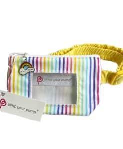 Insulin Pump Pouch Bright Rainbow