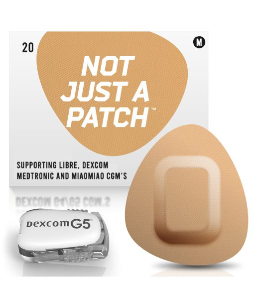 Not Just a Patch Dexcom G5/6, MiaoMiao, Libre & Medtronic Beige G5