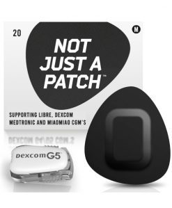 Not Just a Patch Dexcom G5/6, MiaoMiao, Libre & Medtronic Black G5