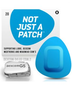 Not Just a Patch Dexcom G5/6, MiaoMiao, Libre & Medtronic Blue G5