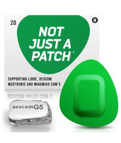 Not Just a Patch Dexcom G5/6, MiaoMiao, Libre & Medtronic Green G5
