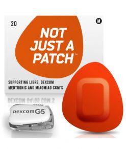 Not Just a Patch Dexcom G5/6, MiaoMiao, Libre & Medtronic Orange G5