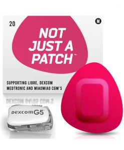 Not Just a Patch Dexcom G5/6, MiaoMiao, Libre & Medtronic Pink G5