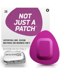 Not Just a Patch Dexcom G5/6, MiaoMiao, Libre & Medtronic Purple G5