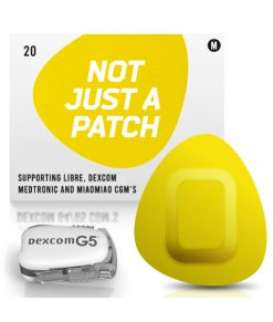 Not Just a Patch Dexcom G5/6, MiaoMiao, Libre & Medtronic Yellow G5