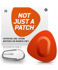Not Just a Patch Dexcom G5/6, MiaoMiao, Libre & Medtronic Orange G6