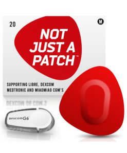 Not Just a Patch Dexcom G5/6, MiaoMiao, Libre & Medtronic Red G6