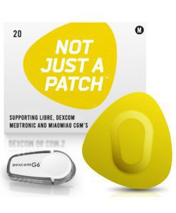 Not Just a Patch Dexcom G5/6, MiaoMiao, Libre & Medtronic Yellow G6