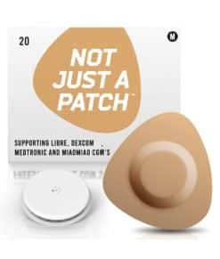 Not Just a Patch Dexcom G5/6, MiaoMiao, Libre & Medtronic Beige Libre