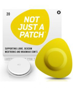 Not Just a Patch Dexcom G5/6, MiaoMiao, Libre & Medtronic Yellow Libre