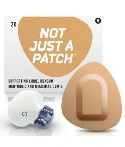 Not Just a Patch Dexcom G5/6, MiaoMiao, Libre & Medtronic Beige Medtronic