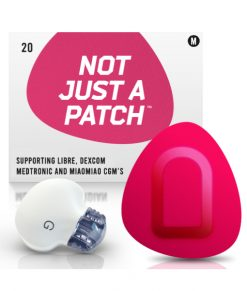 Not Just a Patch Dexcom G5/6, MiaoMiao, Libre & Medtronic Pink Medtronic