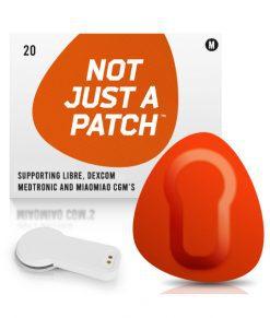 Not Just a Patch Dexcom G5/6, MiaoMiao, Libre & Medtronic Orange MiaoMiao