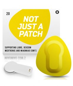 Not Just a Patch Dexcom G5/6, MiaoMiao, Libre & Medtronic Yellow MiaoMiao