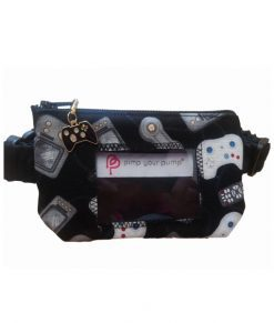 """Insulin Pump Pouch Gamer with Vinyl Screen  - 16-23"""" only"""