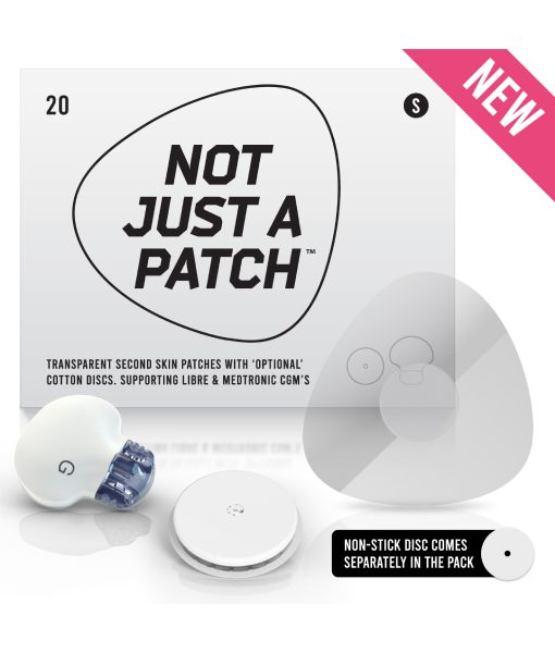 Not Just A Patch Clear S - Libre & Medtronic 20 Pack