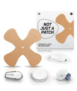 Not Just A Patch X-Patch Beige