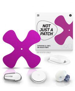 NJAP X Patch Purple