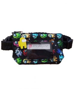 Insulin Pump Pouch Among Us with Vinyl Screen
