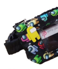 """Insulin Pump Pouch Among Us with Vinyl Screen 16-23"""""""