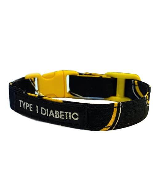 Kids Diabetes Medical Alert Bracelet Batman