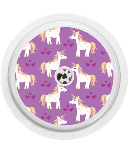 ETC Freestyle Libre Sensor Cover Unicorn