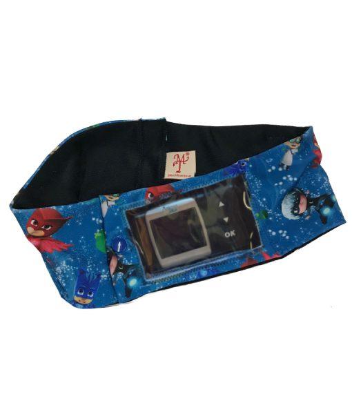 Insulin Pump PJ Masks Band with Window