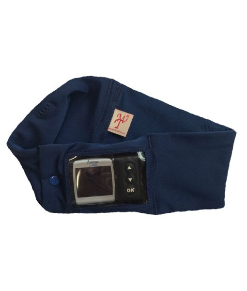 Insulin Pump Navy Band with Window